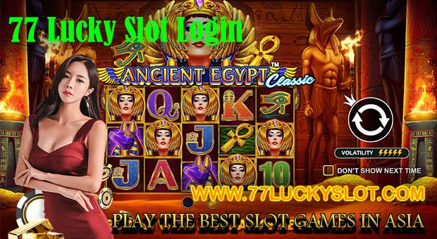 77 Lucky Slot Login